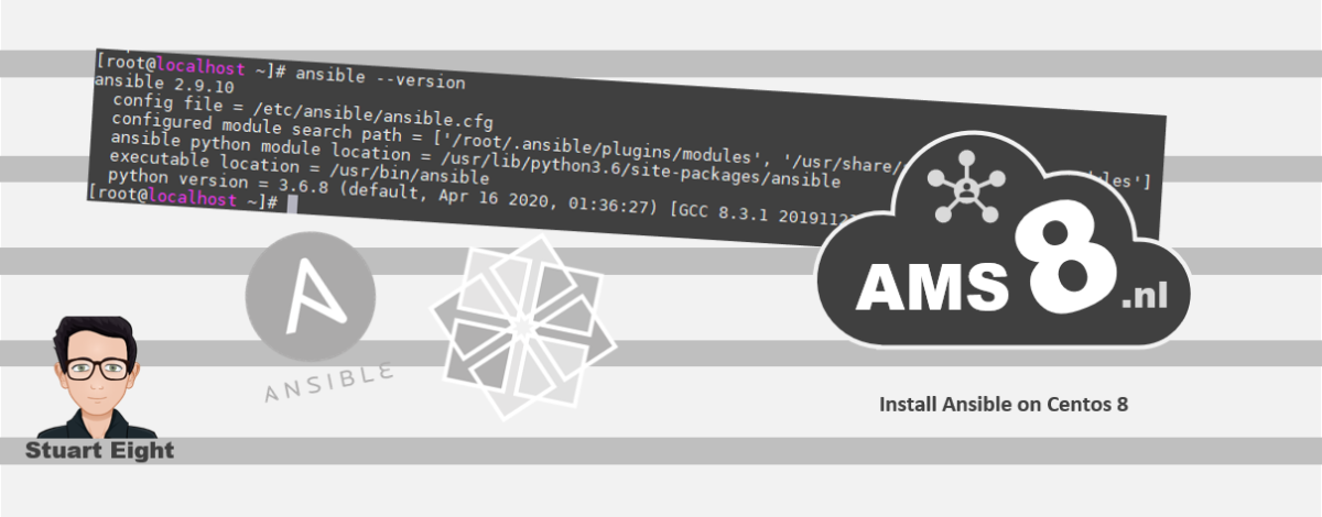Install Ansible on Centos 8 Image