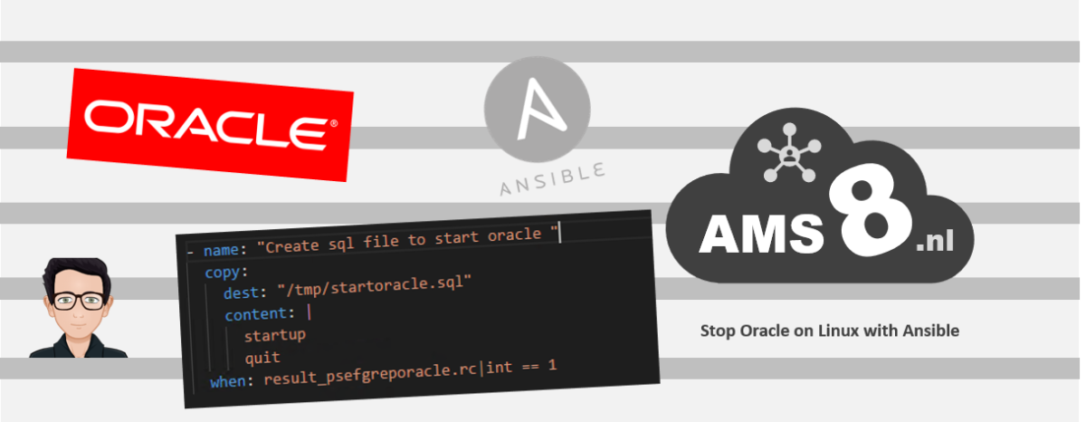 promo image for stopping oracle on linux with ansible